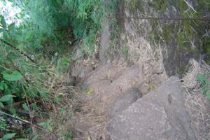 Escada de pedra...
