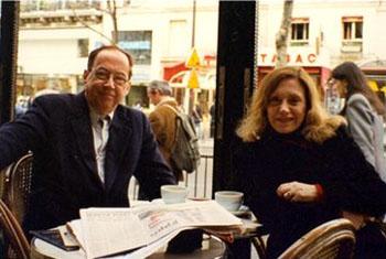 Paulo Francis e Sonia Nolasco