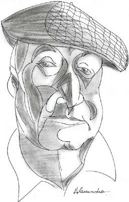 Pablo Neruda por Alessandro Silva