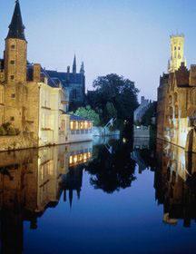 Brugges, na Belgica: uma das minhas cidades preferidas