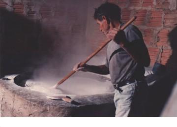 Pruduzindo farinha