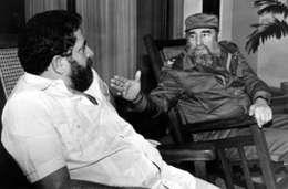 Lula e Fidel em Havana