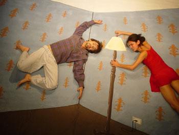 Daniela Casteline e Ivan Capua em Olho por Olho