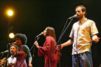 Orquestra Imperial na abertura da FLIP (Foto: Tuca Vieira/Divulgação)