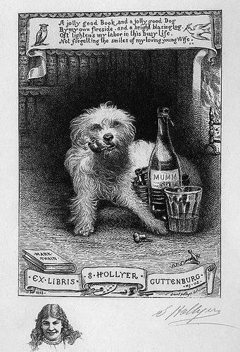 [Bookplate of Samuel Hollyer]